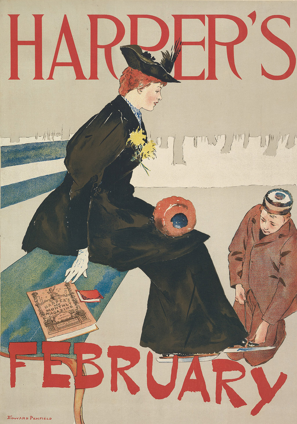 Edward Penfield The Complete Harper S Posters 1893 1899